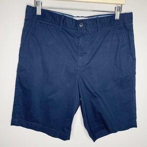 PENGUIN ORIGINAL Straight Navy Chino Shorts 32